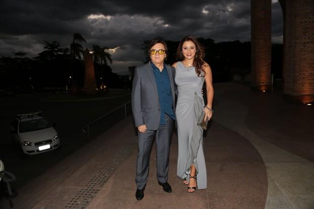 Chitãozinho e esposa (Foto: Denilson Santos, Marcelo Brammer e Joshua Bryan /AgNews)