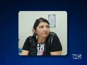 Ex-coordenadora da folha de pagamento do Tribunal de Justiça do Maranhão (TJ-MA), Claudia Maria da Rocha Rosa (Foto: Reprodução/TV Mirante)