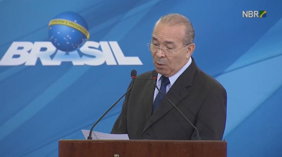 Padilha diz que governo está tranquilo com apoio no Congresso (Foto: Reprodução/NBR TV)