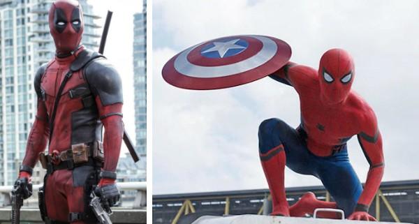 Diretor quer reunir Deadpool e Homem-Aranha em novo filme.