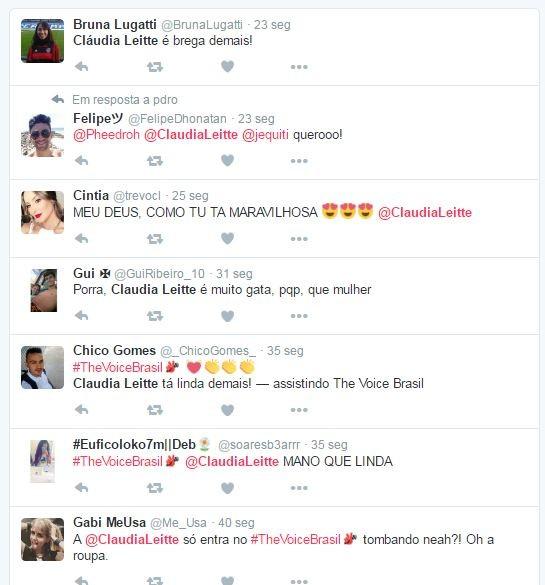 Look de Claudia Leitte ganha repercussão (Foto: Reprodução/Twitter)
