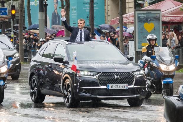 DS7 Crossback se torna carro presidencial na França (Foto: Divulgação)