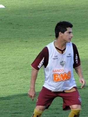 Danilinho treino Atlético-MG (Foto: Léo Simonini / Globoesporte.com)