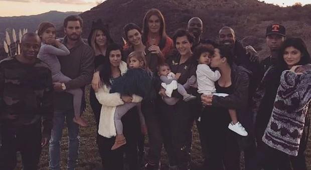 Família Kardashian-Jenner comemora Thanksgiving (Foto: Instagram / Reprodução)