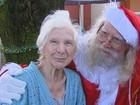 Após 3 infartos, aposentado decide cumprir 'missão' como Papai Noel