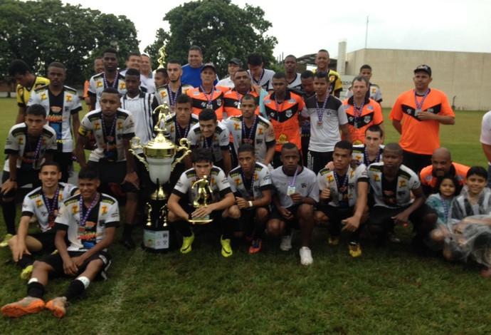 Nacional de Uberaba, vice-campeão Copa Regional Sub-20 (Foto: Felipe Santos)