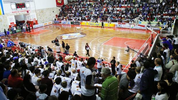 Ginásio Lineu de Moura em São José dos Campos (Foto: Adenir Britto/PMSJC)