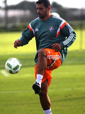 Diego Souza, meia do Fluminense, em treino nos EUA (Foto: Nelson Perez/Fluminense F.C.)