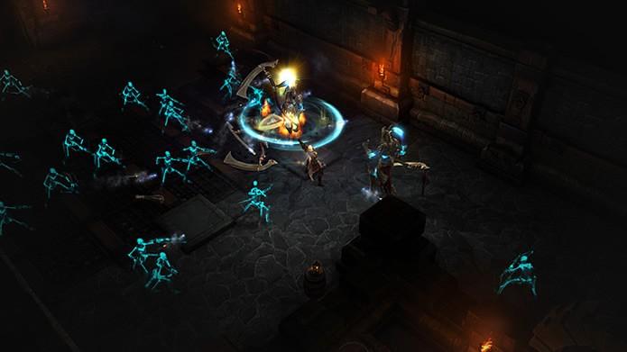 A mecânica de Diablo 3: Reaper of Souls possui uma mecânica de ajuste automático do nível de dificuldade das partidas (Foto: Divulgação/Blizzard Entertainment)