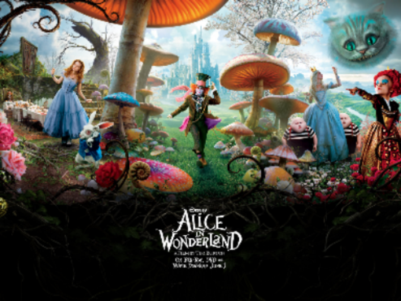 Papel de Parede Alice in Wonderland  Download  TechTudo