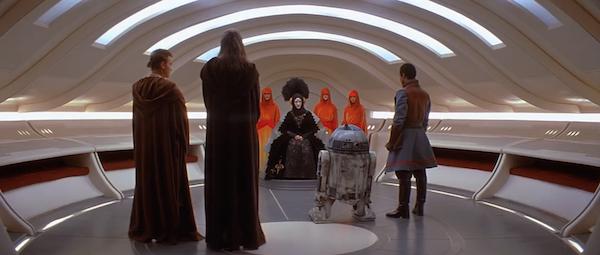 R2-D2 em cena de Star Wars: Episódio I - A Ameaça Fantasma (1999) (Foto: Reprodução)