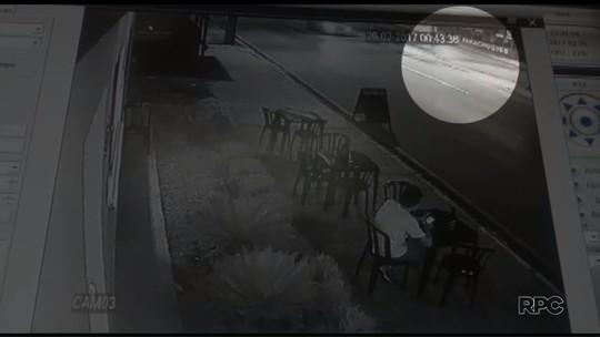 Câmera registra acidente de moto com filho de motorista do Samu