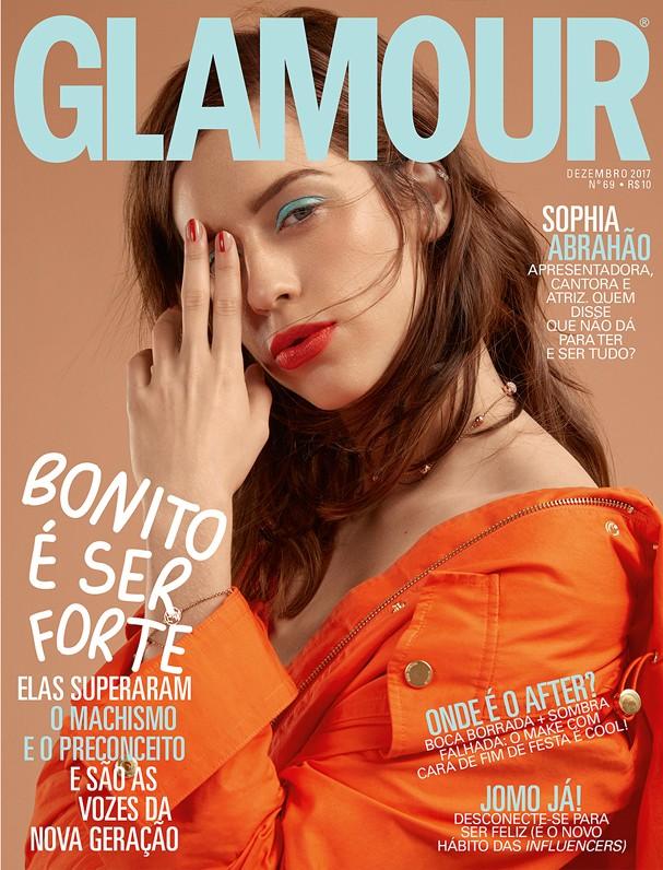 Sophia Abrahão na Glamour de dezembro (Foto: Bruna Castanheira)