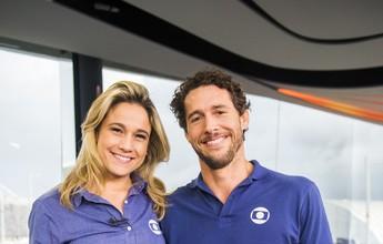 Fernanda Gentil e Flávio Canto são a nova dupla de apresentadores do EE