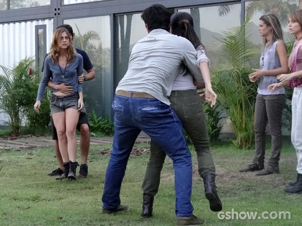 Paulinha promete se vingar de Joana (Foto: Além do Horizonte/TV Globo)