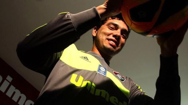 Felipe Garcia, novo goleiro do Fluminense (Foto: Divulgação / Site Fluminense)