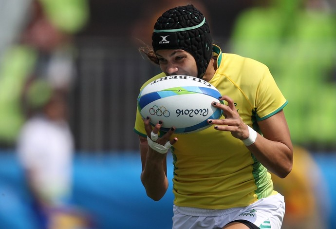 Beatriz Baby Futuro, rugby Brasil x Japão (Foto: REUTERS/Phil Noble)
