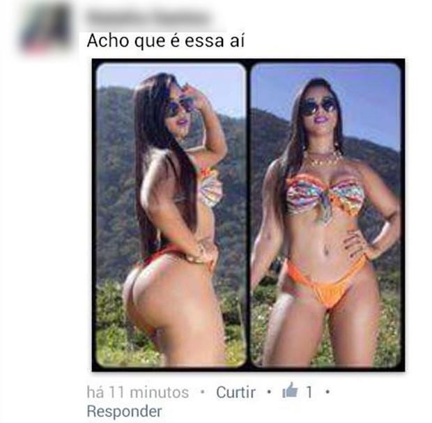 Comentários sobre Camila Werneck (Foto: Reprodução / Facebook)