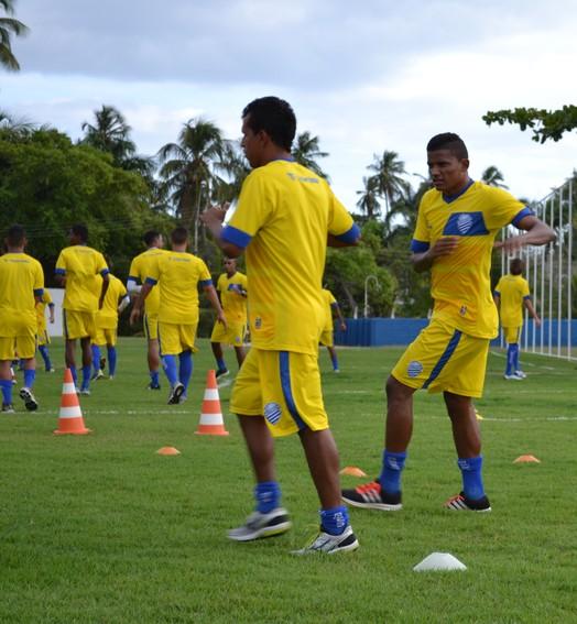 trabalho (Jota Rufino/GloboEsporte.com)