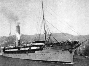 Uma hipótese, é que sejam navios usados na imigração italiana no ES (Foto: Reprodução/TV Gazeta)
