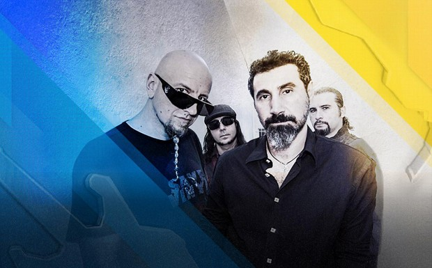 system of a down - rock in rio 2015 (Foto: Divulgao)