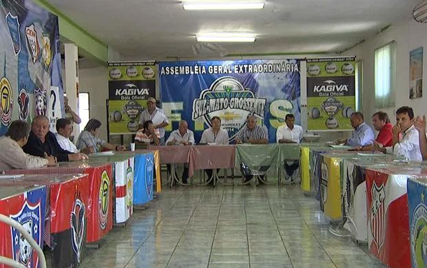 Sul-Mato-Grossense de 2014 tem nova fórmula de disputa definida (Foto: Reprodução/TV Morena)