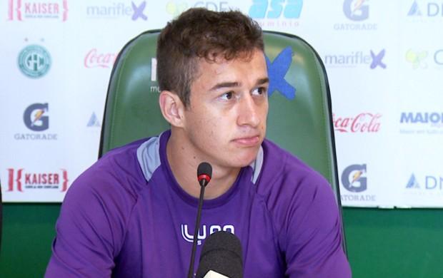 Ronaldo Mendes, meia do Guarani (Foto: Reprodução / EPTV)