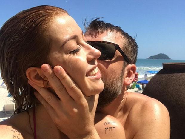 Luiza Possi e Cris Gomes (Foto: Reprodução)