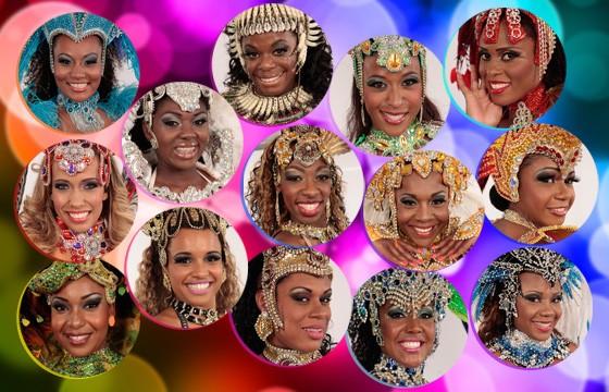 Conheça as candidatas ao Musa do Carnaval de SP (Caldeirão do Huck/TV Globo)