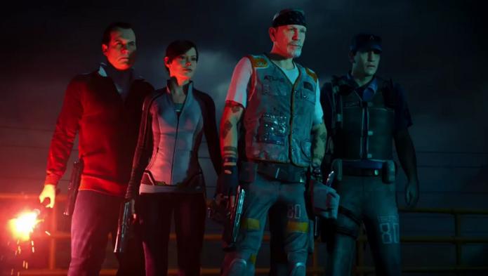 CoD: Advanced Warfare ganhou trailer com gameplay do modo Exo Zombies e estrelas de Hollywood (Foto: Reprodução/YouTube)