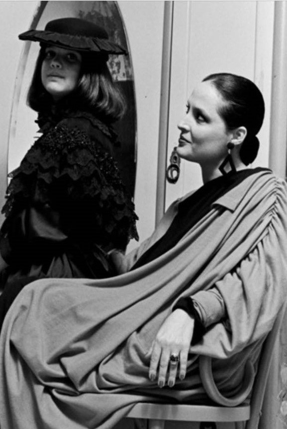 Mariana Kupfer e a mãe, Giovanna (Foto: Bob Wolfenson)