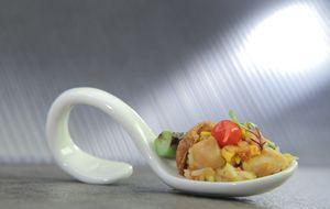 Galinhada com pequi, quiabo e poró: receita de Arika Messa no 'The Taste Brasil'