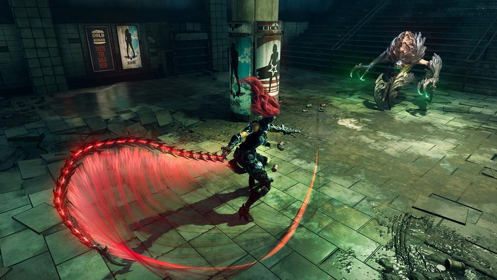 'Darksiders III' tem a guerreira Fury no papel principal (Foto: Divulgação)