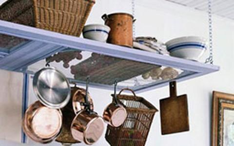 Ideias de como organizar a cozinha sem armários