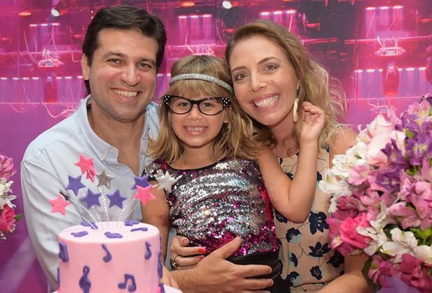 Aniversário de Valentina, sobrinha neta de Xuxa (Foto: Blad Meneghel/Divulgação)