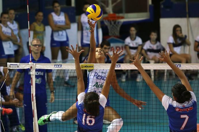 Rio de Janeiro x Olympic - Sul-Americano de clubes de vôlei (Foto: Fernando Maia/MPIX )