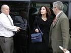 Nigella Lawson chega a tribunal para 2º dia de julgamento de ex-assistentes