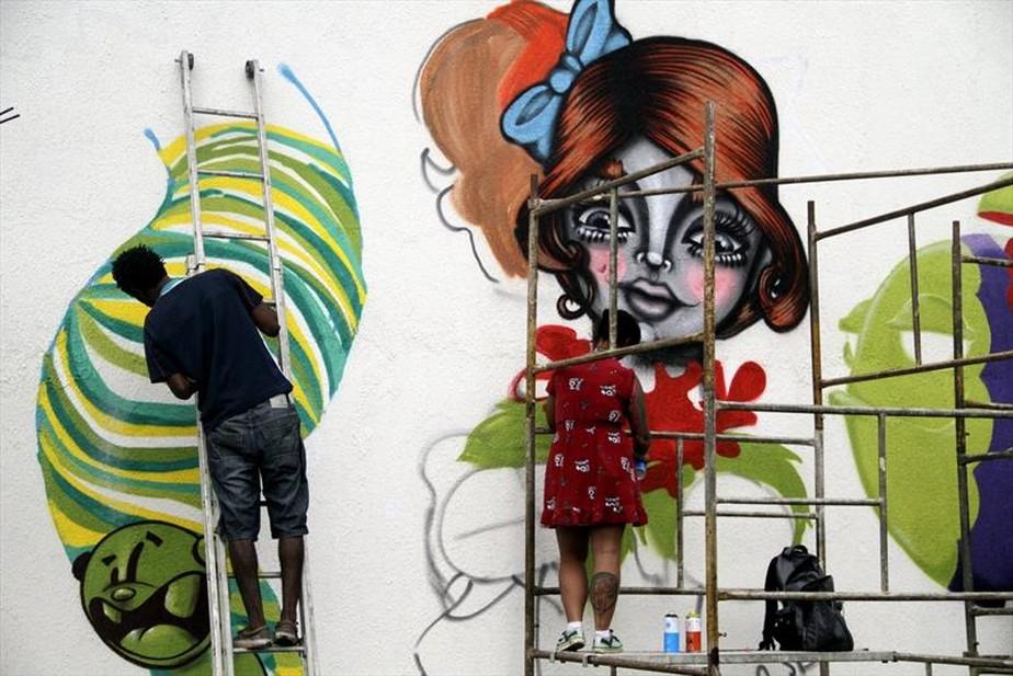 Encontro internacional de grafite reúne 250 artistas de 25 países em Curitiba