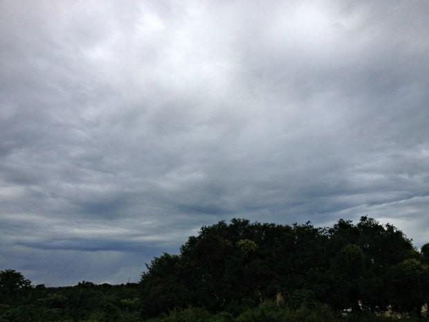 Sexta-feira será de tempo nublado em Rondônia (Foto: Ivanete Damasceno/G1)