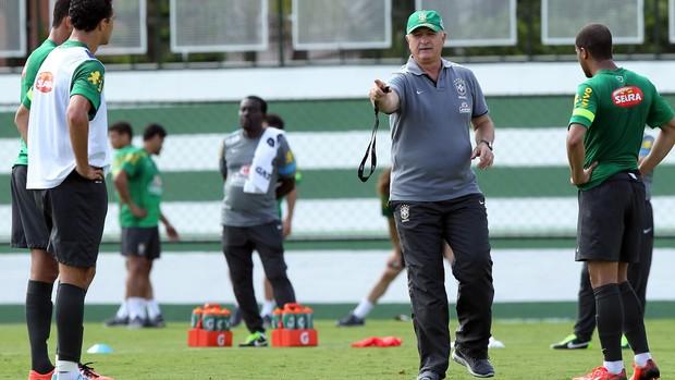 Felipão Scolari treino Seleção Brasil (Foto: Wander Roberto/Vipcomm)
