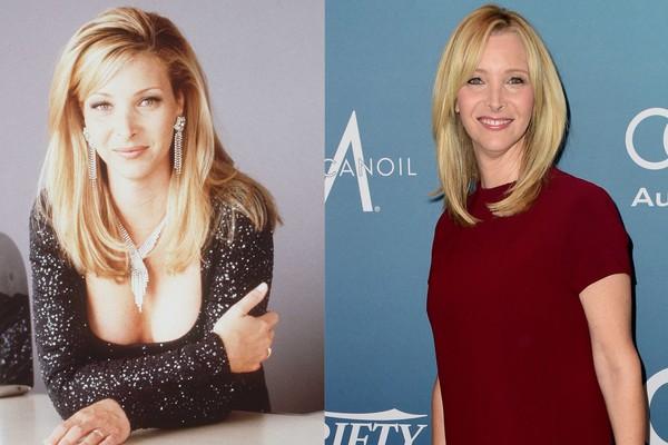 Lisa Kudrow em 1996 e em 2015 (Foto: Getty Images)