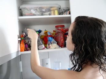 Além de adorar comer, Marília gosta de fazer doces com chocolate. (Foto: Katherine Coutinho / G1)