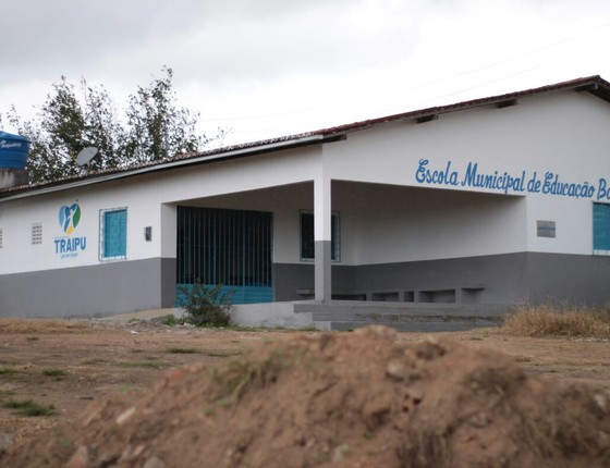 Escola em Traipu (Foto: Divulgação)