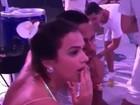 Bruna Marquezine e Neymar participam de 'mannequin challenge'