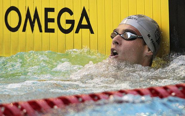 Marcos de Oliveira na Tentativa Olímpica (Foto: Satiro Sodré / Agif)