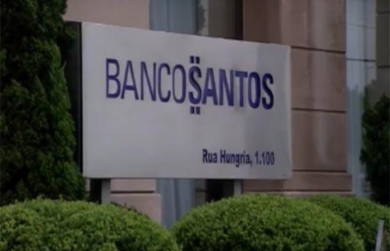 Fachada do Banco Santos (Foto: Reprodução)