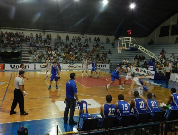 Uberlândia Basquete Minas Sub 22 (Foto: Felipe Santos/GLOBOESPORTE.COM)