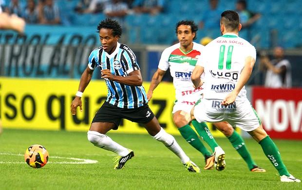 Zé Roberto jogo Grêmio contra Portuguesa (Foto: Lucas Uebel / Site Oficial do Grêmio)