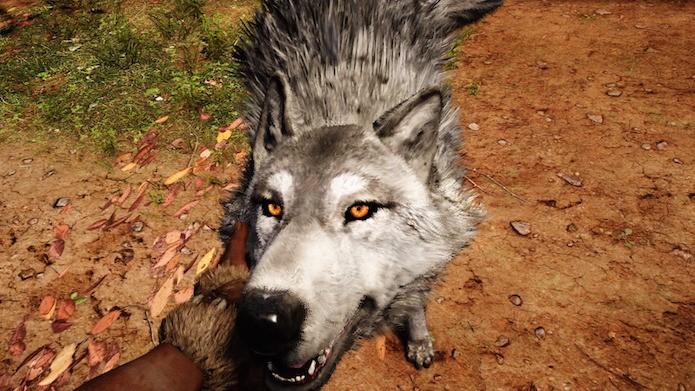Far Cry Primal: sistema de domar animais dinamiza o gameplay (Foto: Reprodução/Victor Teixeira)