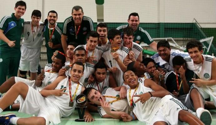 Palmeiras sub-15 basquete (Foto: Fabio Menotti / Ag.Palmeiras / Divulgação)